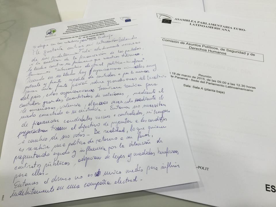 Eurolat discorso spagnolo