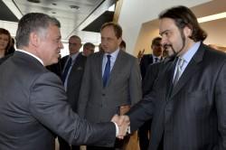 King Abdullah II of Jordan, Alexander GRAF LAMBSDORFF, Fabio Massimo CASTALDO
