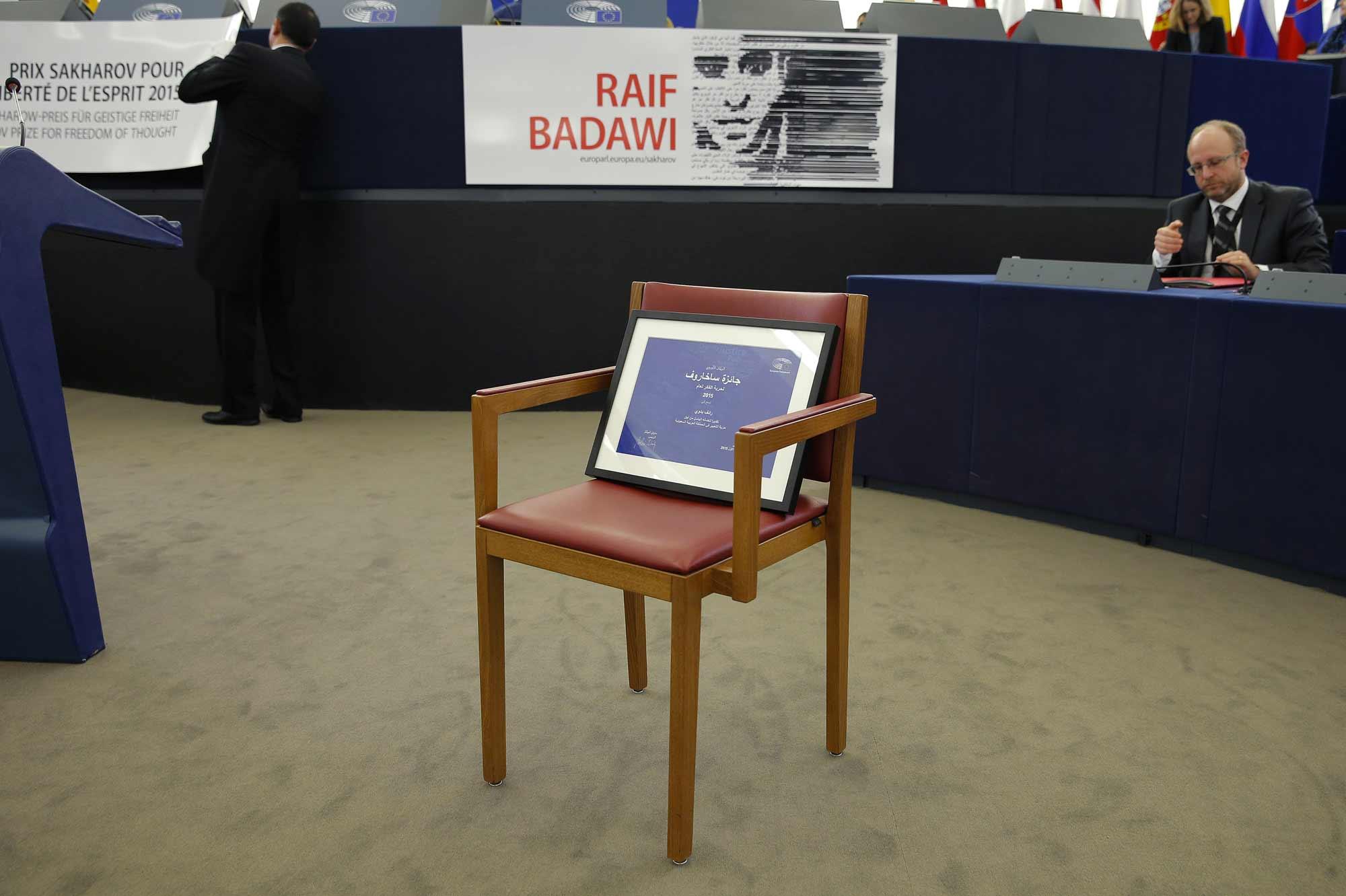Raif-Badawi-recoit-le-prix-Sakharov-en-son-absence