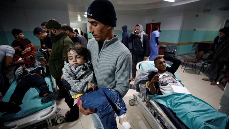 sangue e morte sconvolgono Palestina