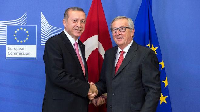 Recep Tayyip Erdoğan & Jean-Claude Juncker